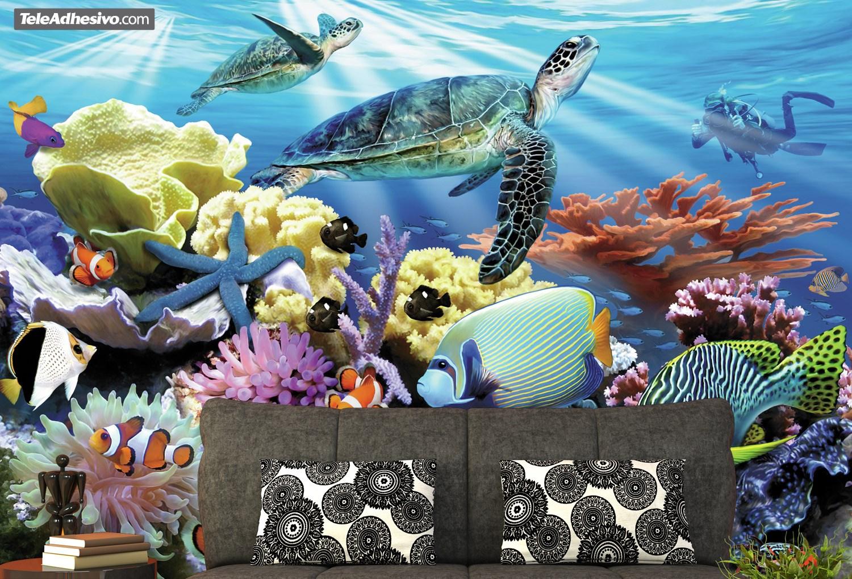 Fototapeten: Meeresboden