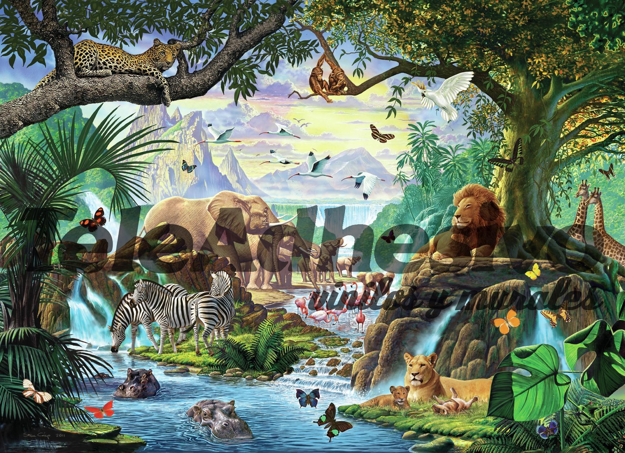 Fototapeten: Natur-Dschungel