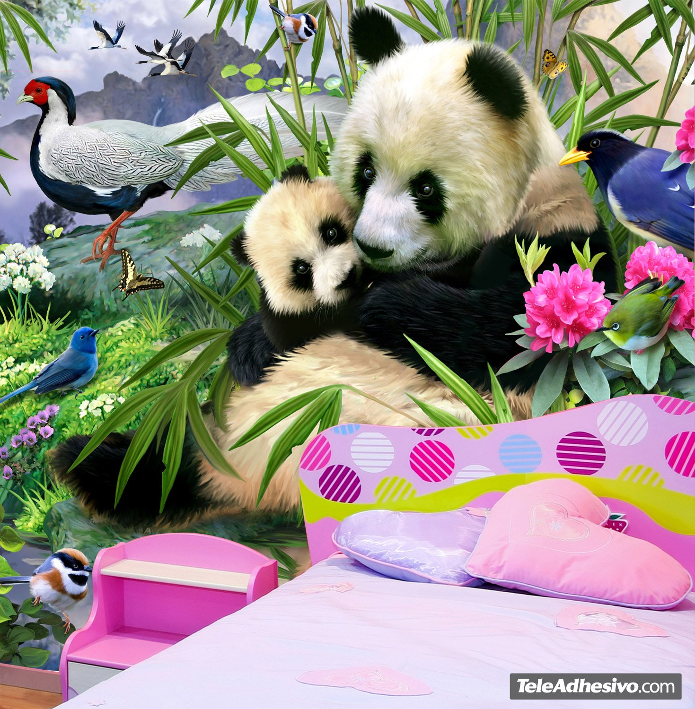 Fototapeten: Panda-Bär