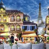 Fototapeten: Straßen von Paris 2