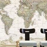 Fototapeten: Politische Weltkarte 2
