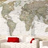 Fototapeten: Politische Weltkarte 3