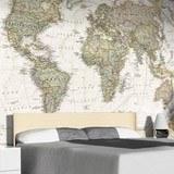 Fototapeten: Politische Weltkarte 4