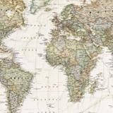 Fototapeten: Politische Weltkarte 5