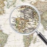 Fototapeten: Politische Weltkarte 6