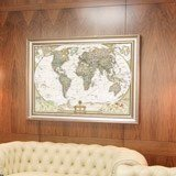 Fototapeten: Politische Weltkarte 7