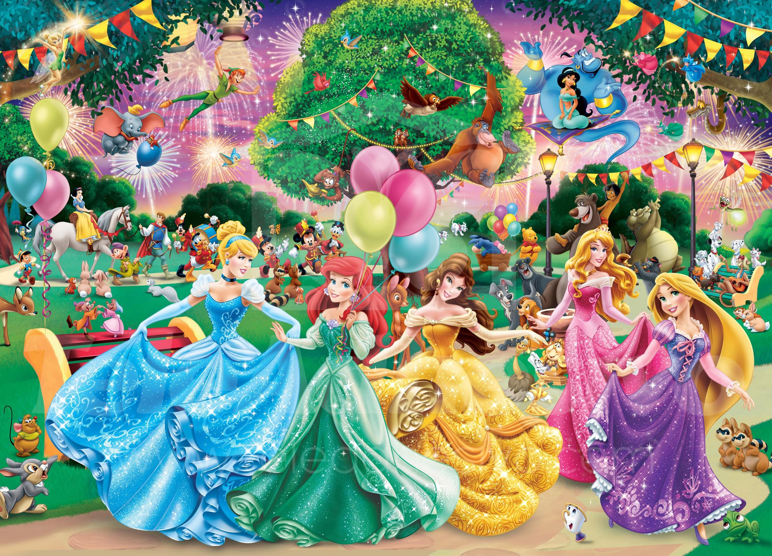 Fototapeten: Prinzessinnen