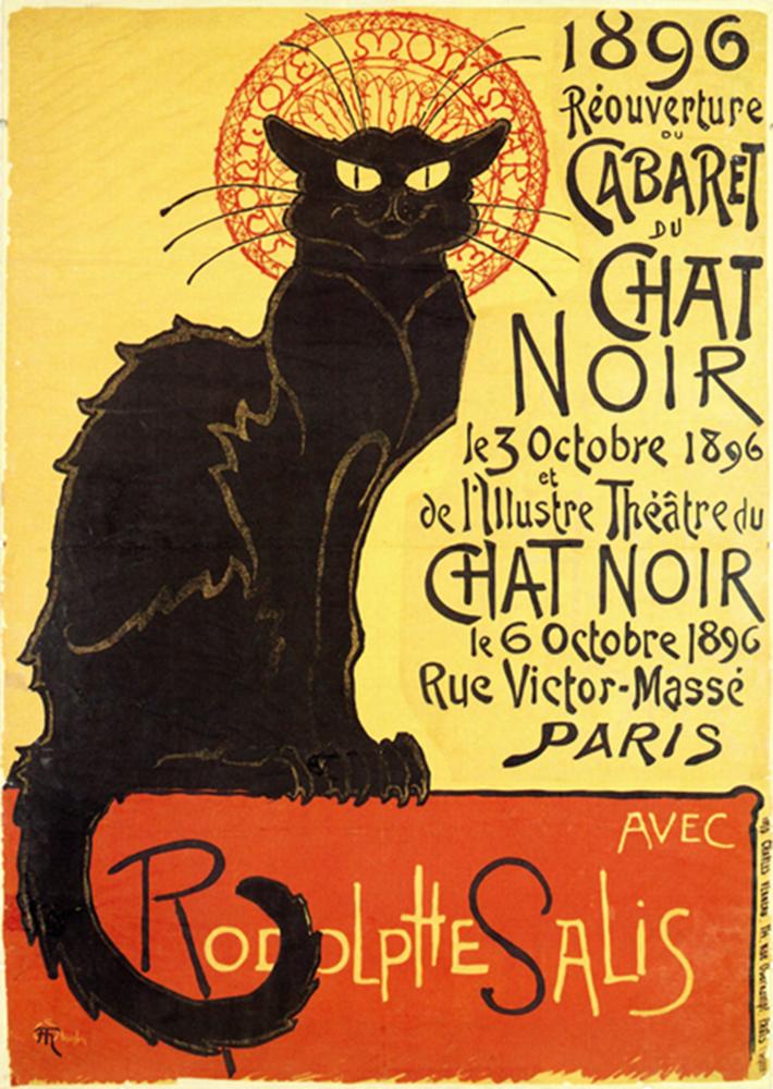 Fototapeten: Chat Noir