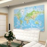 Fototapeten: World Map 1 0