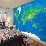 Fototapeten: World Map 3 2