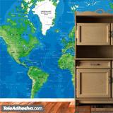 Fototapeten: World Map 3 4