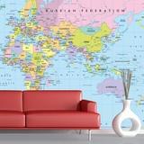 Fototapeten: Weltkarte 1 0