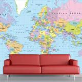 Fototapeten: Weltkarte 1 3