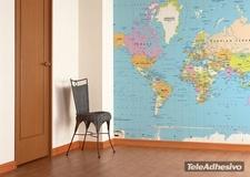 Fototapeten: Political World Map 2 2