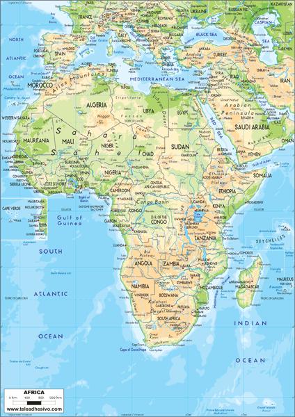 Fototapeten: Africa 1