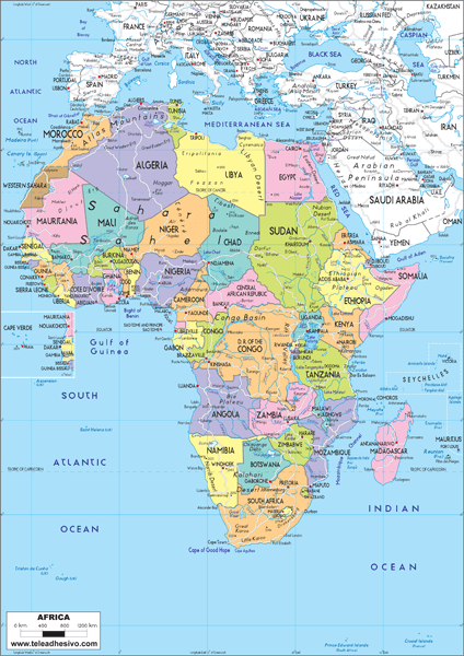 Fototapeten: Africa Political 1