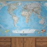 Fototapeten: World Polical Map 0