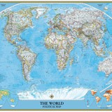 Fototapeten: World Polical Map 3