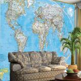 Fototapeten: World Polical Map 3