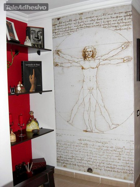 Fototapeten: Vitruvian Mann_Da Vinci