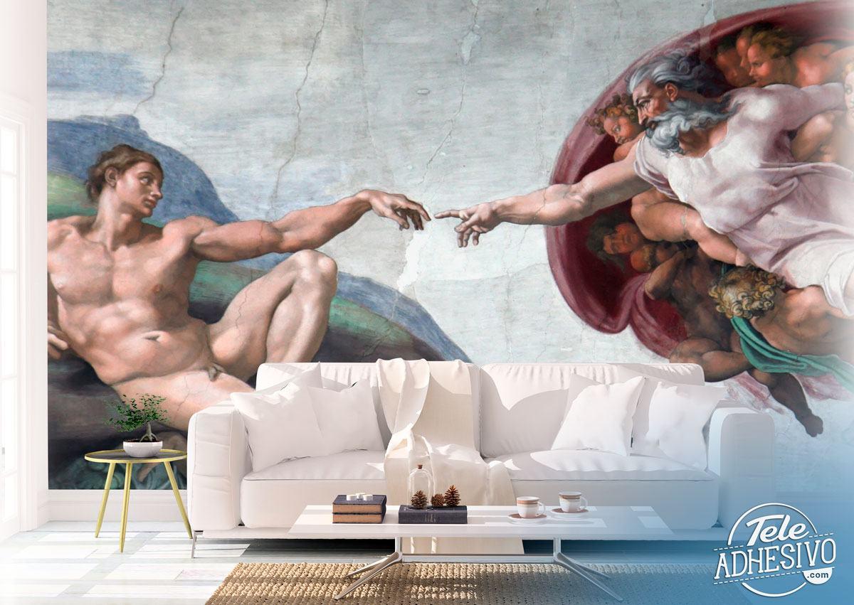 Fototapeten: Schaffung von Adam_Michelangelo