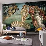 Fototapeten: Die Geburt der Venus_Botticelli 1
