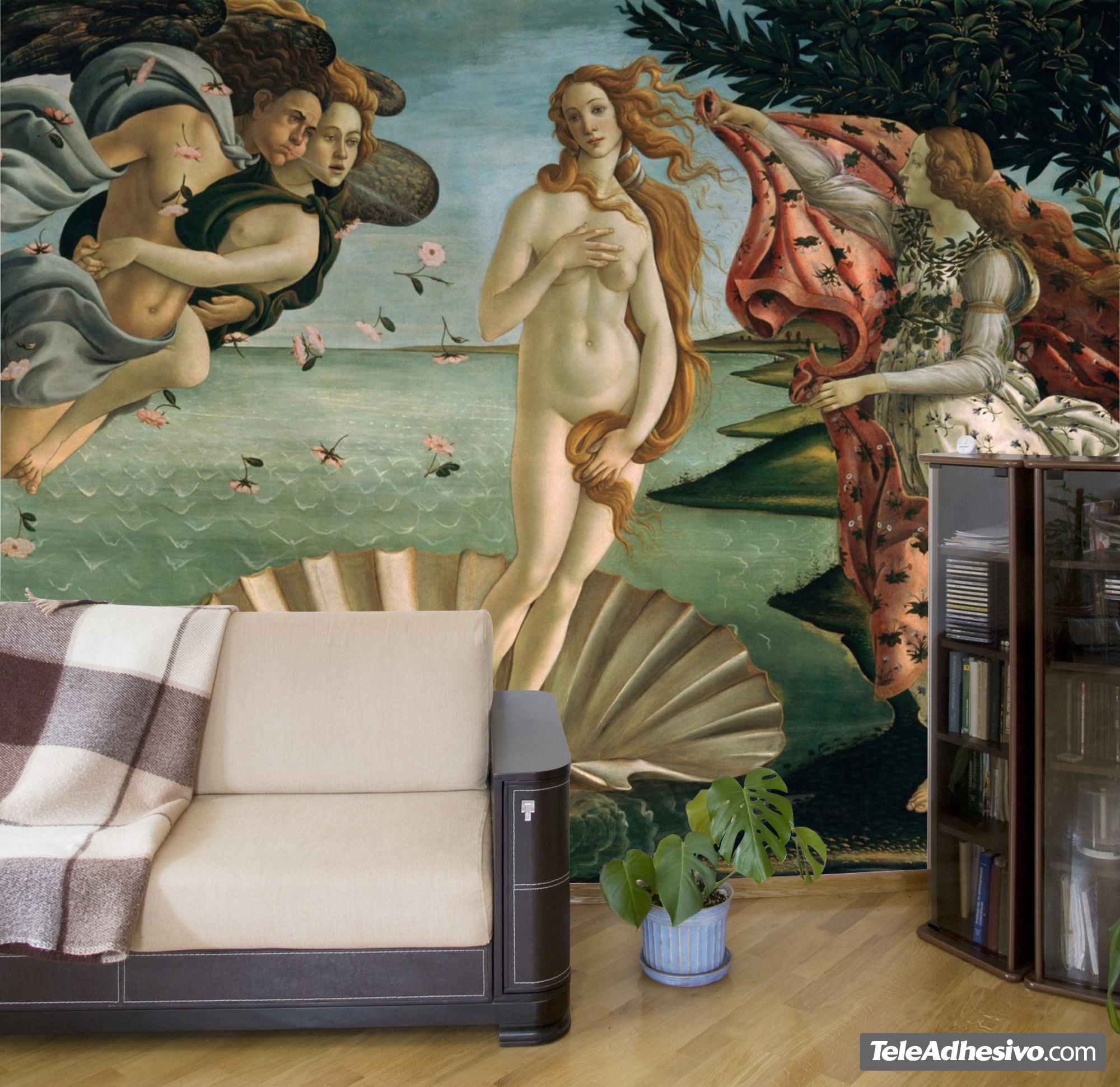 Fototapeten: Die Geburt der Venus_Botticelli