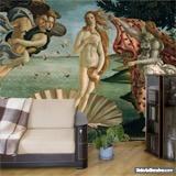 Fototapeten: Die Geburt der Venus_Botticelli 4