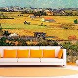 Fototapeten: Ernte in La Crau_Van Gogh 2