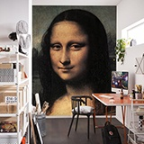 Fototapeten: Mona Lisa (Detail)_Da Vinci 2