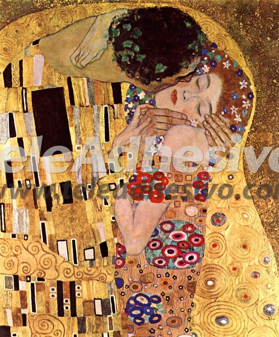 Fototapeten: Der Kuss_Klimt