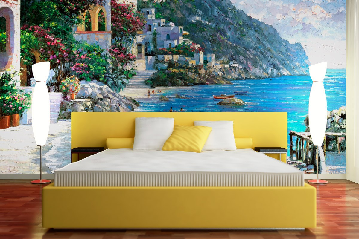 Fototapeten: Capri Del Mar