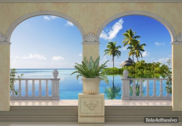 Fototapeten: Insel in der Karibik