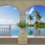Fototapeten: Insel in der Karibik 3