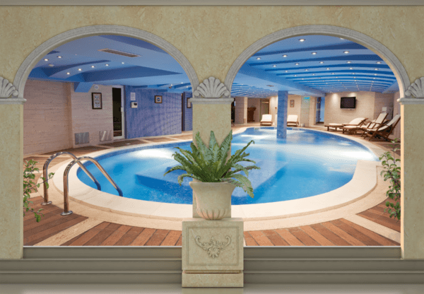 Fototapeten: Spa Pool