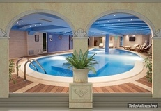 Fototapeten: Spa Pool 2