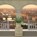 Fototapeten: Ansicht von Florenz 3