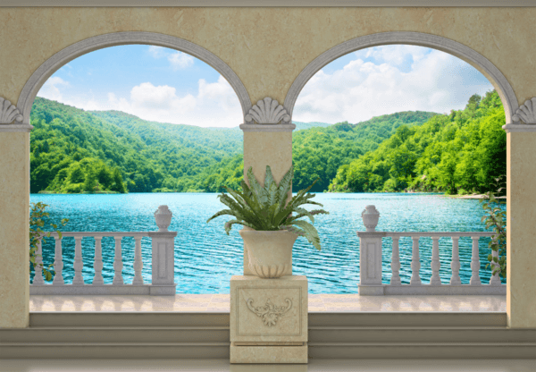 Fototapeten: Lake und Vegetation