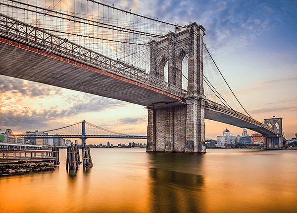 Fototapeten: New York Bridges