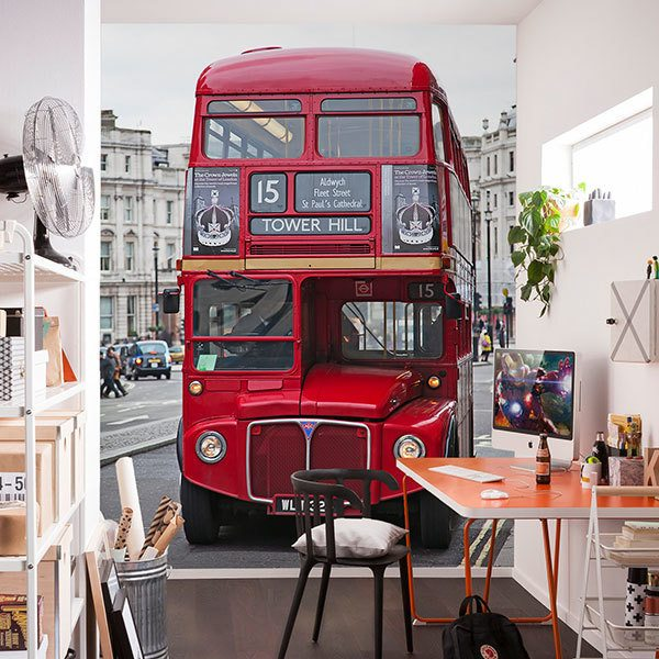 Fototapeten: Routemaster Bus - Tower Hill