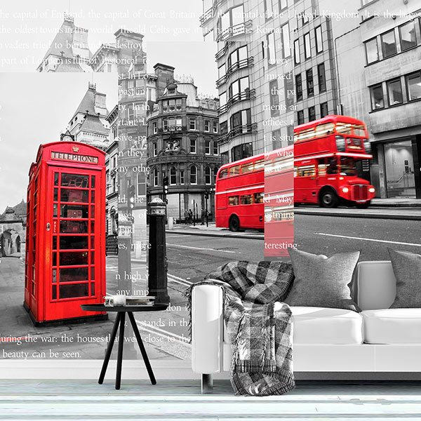 Fototapeten: Collage London