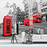 Fototapeten: Collage London 2