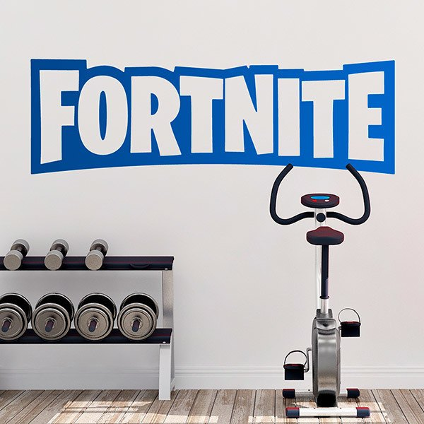 Wandtattoos: Fortnite logo