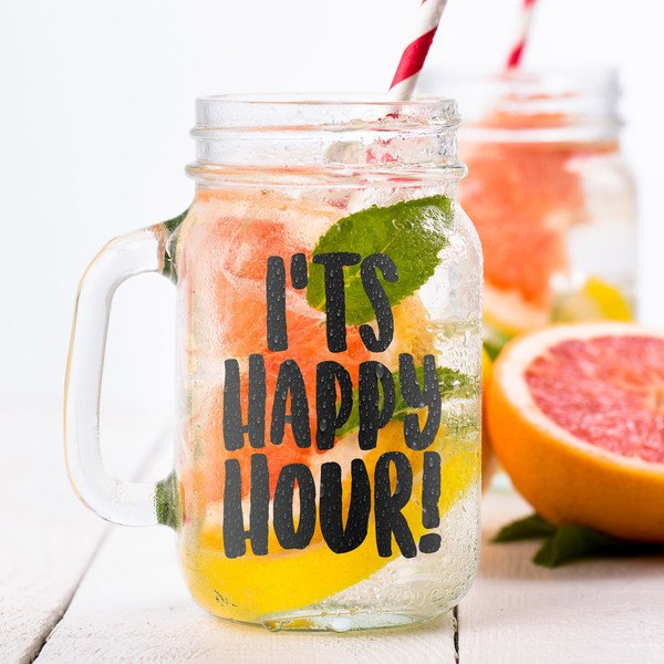 Wandtattoos: It's happy hour