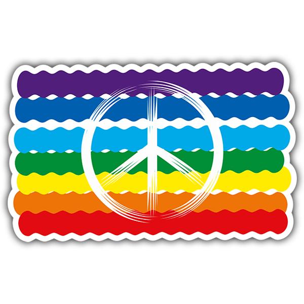 Aufkleber: Peace02