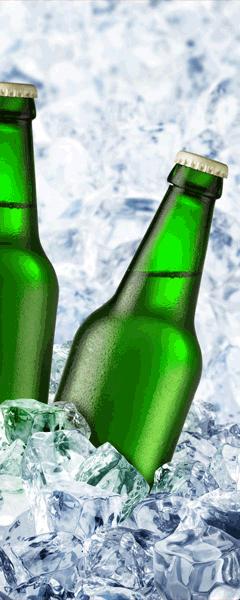 Wandtattoos: cold beers