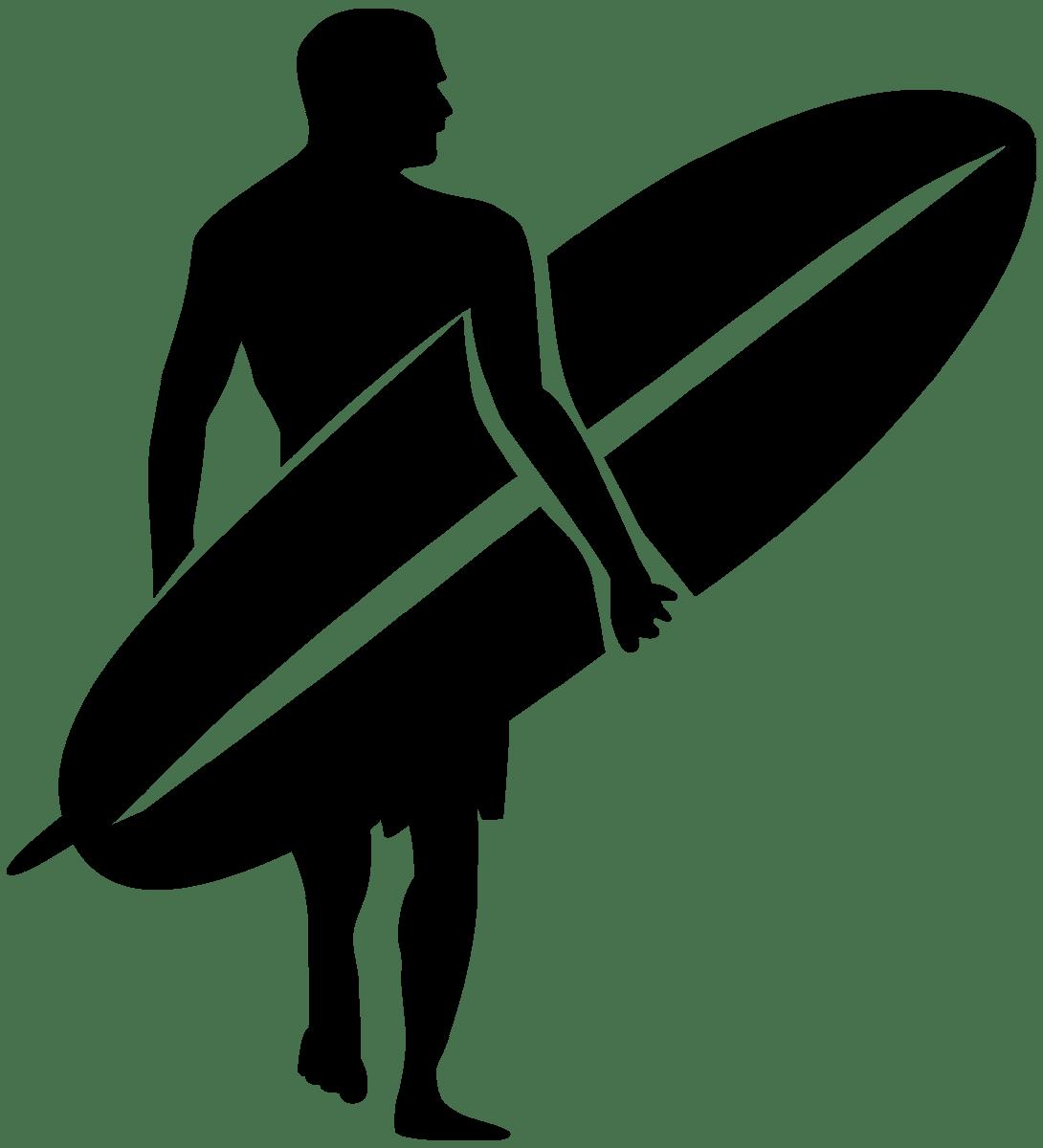Wandtattoos: Surf Walker