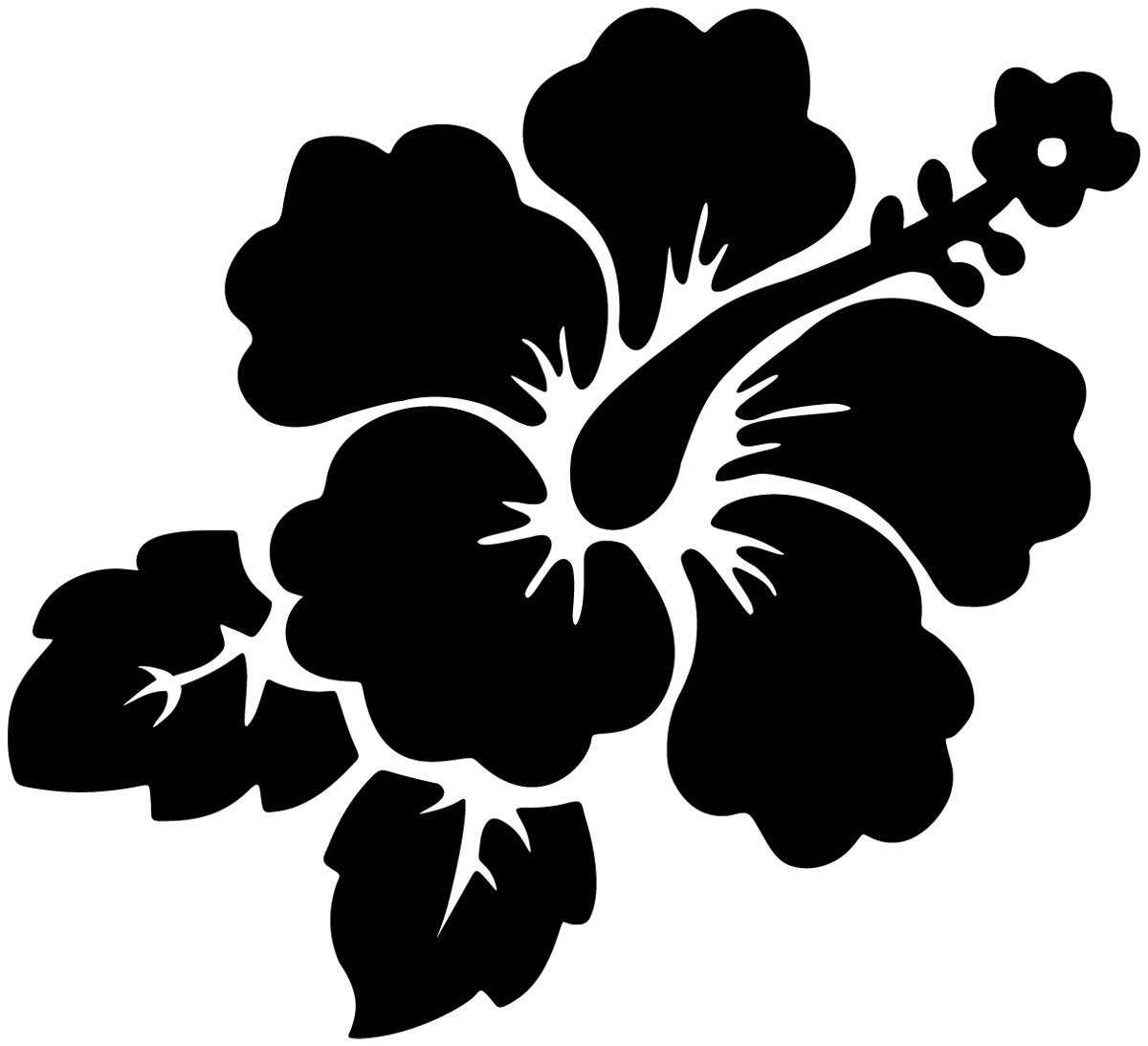 Wandtattoos: Flower Style 03