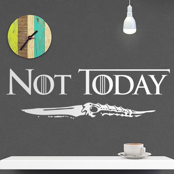 Wandtattoos: Not today