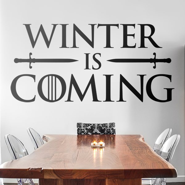 Wandtattoos: Winter is coming